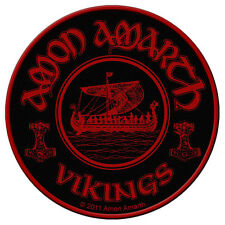 AMON AMARTH - Patch Aufnäher - Vikings circular 9x9cm