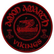 AMON AMARTH - Patch Aufnäher - Vikings circular 9x9cm