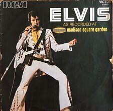 Elvis Presley - As Recorded At Madison Square Garden - 1972 - Vinyl 33T LP