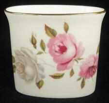 Royal Worcester Pink & White Roses 'Marissa' Matchstick Holder 1974+