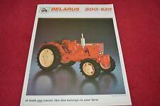 Belarus 500 520 Tractor Dealer's Brochure BB-56-R LCOH