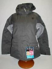 $199 NEW SESSIONS WOMENS DIVINE CROSSHATCH INSULATED SNOWBOARD JACKET M