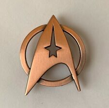 Star Trek Movie Era Enlisted Officer Bronze Badge