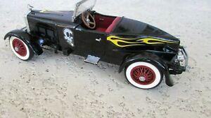 """1927 Stutz Bear Cat Speedster deluxe 1:24 8 """" original American Hot Rod graphics"""