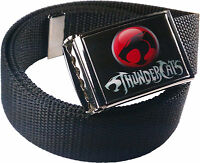 Thundercats Custom Logo Belt Buckle Bottle Opener Adjustable Web Belt