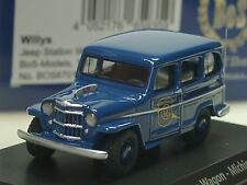 BOS Willys Jeep Station Wagon, MICHIGAN POLICE - 87012 - 1:87