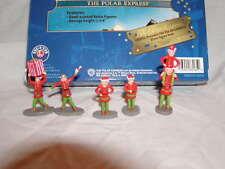 Lionel 6-83185 Polar Express Elves Figure Pack MIB New 5 Elf Figures O 027 2016