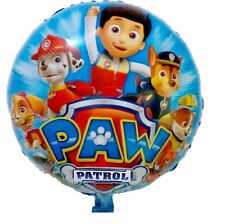 18 Inch Paw Patrol - Chase Marshall birthday party foil balloon