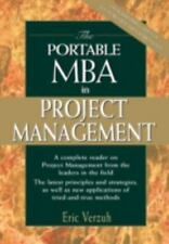 The Portable MBA in Project Management, Eric Verzuh, Good Condition, Book