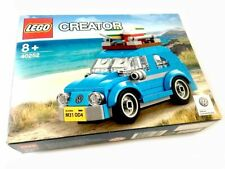 Lego Creator 40252 Volkswagen Beetle With Box Instructions & MOC Plinth - Built