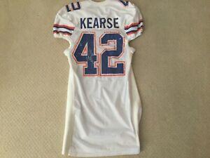 "JEVON KEARSE #42 FLORIDA GATORS GAME USED SEC JERSEY HAMMERED ""THE FREAK"" LQQK!!"