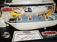 ~RARE~MINT~VTG~1977~1982~1983~Kenner~Star~Wars~Rebel~Transport~vehicle~ship~lot~