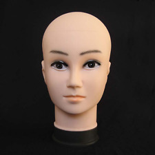 PVC Female Model Mannequin Head Display Dummy Glasses Hat Wig Stand 50cm