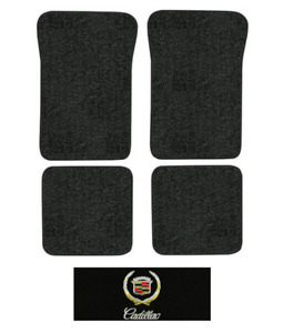 1993 Cadillac 60 Special Floor Mats - 4pc - Cutpile | Fits: Front Wheel Drive