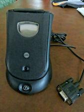 PALM M105 HANDHELD PDA, STYLUS AND SERIAL HOTSYNC COMMUNICATIONS CRADLE