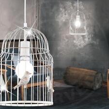 Mia a18421n Suspensions im Shabby Style sous forme de vogelkäfigs en métal