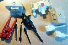 1985 Transformers G-I MetroPlex RT Action Figure Parts