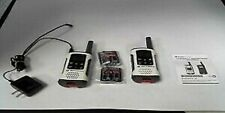 Motorola T260 Talkabout Rechargeable 2-way Radio White