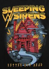 Sleeping With Sirens Better Off Dead American Rock Band Ss T Shirt Size Xs/S