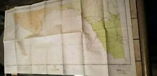 "VINTAGE RARE 1941 SECTIONAL AERONAUTICAL CHART MAP DEL RIO, TEXAS 45""X24"" !!!"