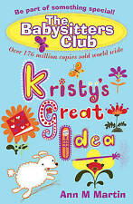 Kristy's Great Idea (Babysitters Club 2010), Ann M. Martin | Paperback Book | Go