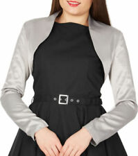 Polyester Long Sleeve Jumpers & Cardigans Boleros & Shrugs for Women