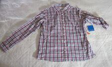 Columbia Womens Shirt XL Meadowgate Plaid Long Sleeve Omni Shade