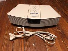 Bose Wave Radio & Alarm Clock Model AWR1W1 Working