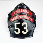 Cairns Baltimore City Station 53 Fireman Firefighter Apprentice Helmet Front