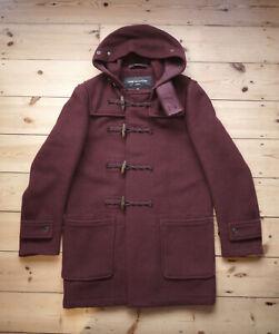 Comme des Garcons x Gloverall Duffle Coat, Men's Medium, Burgundy