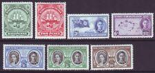 Turks & Caicos Islands 1948 SC 94-100 MH Set Centenary