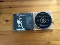 FREDDIE MERCURY - RARE CD PROMO - LIVING ON MY OWN (Radio Remix) -1993 (USA)