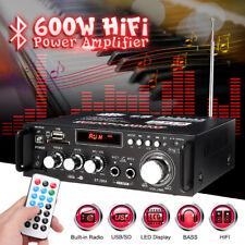 600W bluetooth HiFi Mini bluetooth Amplifier Music Preamps Microphone DJ System