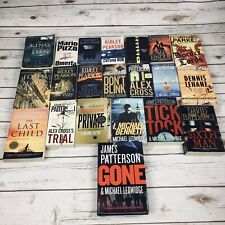 21 Crime Thriller Novels Books Multiple Authors Patterson Lehane Finder Hart +