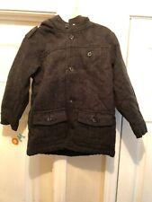 Old Navy Hooded  Wool Blend Boys Gray Coat 5tToddler NEW