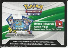 2x Pokemon XY Online TCGO Codes: TWO Steam Seige Booster Pack Unused Codes!