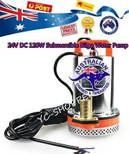 24V DC 120W Submersible Bilge Water Pump Suit Farm Boat or Household