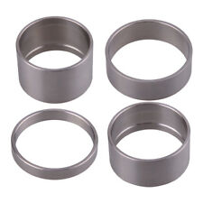 4pc Titanium Alloy 5/10/15/20mm Spacer Bicycle Bike Headset Spacer Front Stem