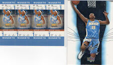 Carmelo Anthony 2 Card Lot! Upper Deck/Fleer Authentix!