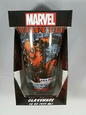 Deadpool Wanted Poster Pint Glass 16 oz Marvel Comics Licensed NEW