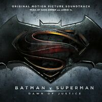 Batman V Superman: Dawn Of Justice Original Motion Picture Soundtracks (CD, New)