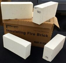 "K-26 Insulating Firebrick 9x4.5x 2.5"" Morgan Thermal Ceramics 2600F FOUR Pack"