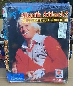 "Greg Norman's Shark Attack! Ultimate Golf Simulator Virgin 5 1/4"" New Box Squish"