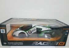 RC Car Racing Car Scale 1:10 White Green Super Car Racing Team Lamborghini XMAS