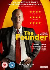 The Founder DVD (2017) Michael Keaton, Hancock (DIR) cert 12 ***NEW***
