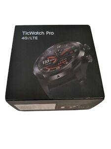 "Ticwatch Pro 4G/LTE Smartwatch, 1G RAM Sleep Tracking Swim-Ready, Dual Display"""