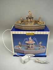 Lemax Lighted Village Square Fountain #9868548 - AS IS