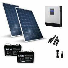 Kit Solare Baita OS Pro 560W 24V Pannello Inverter 3000W Batteria AGM 120Ah SB