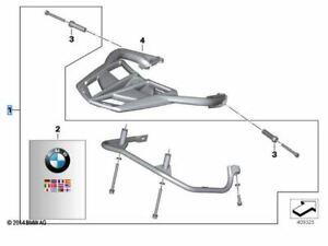 BMW MOTORRAD PANNIER FRAMES, FIT K71 + K73 F800R+GT, 50% RRP £105.00