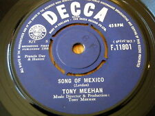 "TONY MEEHAN - SONG OF MEXICO  7"" VINYL"